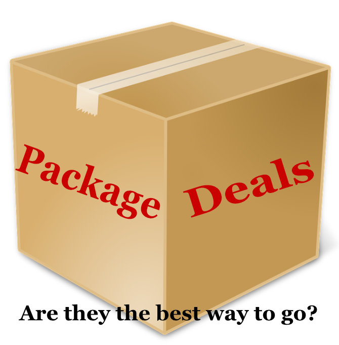 Package Deals...Are They the Best Way to Go?